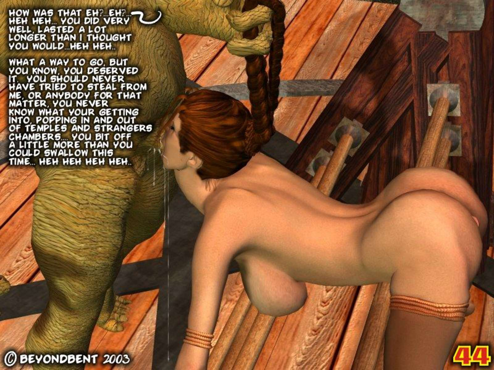 Monster porno laracroft porn photo