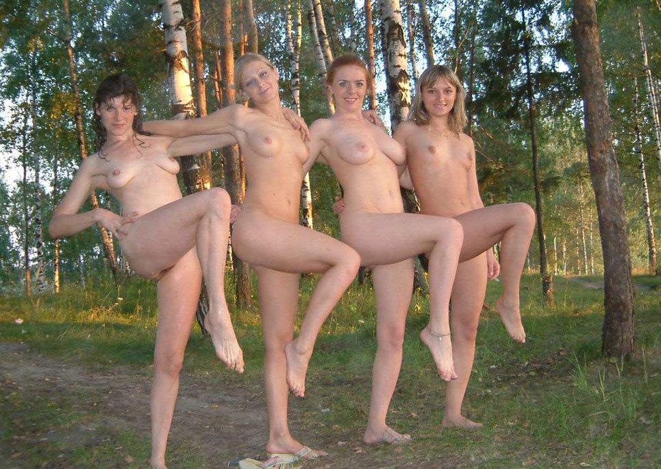 фото голая на природе