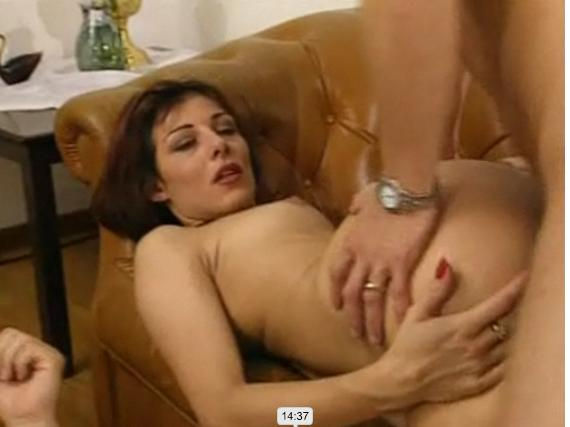 Girl fucks herself hard